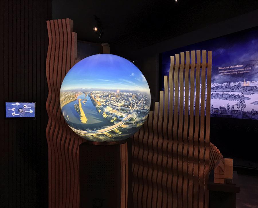 objeos 360 écrans innovants ville de tours